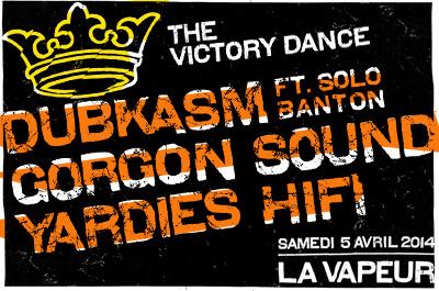 The Victory Dance @ La Vapeur le 5 Avril