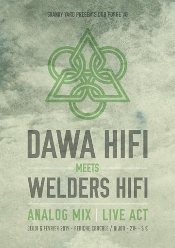 Retour sur la session live act Dub Forge #6 avec Dawa et Welders