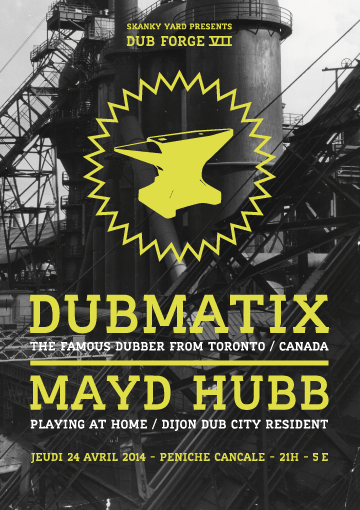Dub Forge 7 – Archives : Dubmatix meets Mayd Hubb