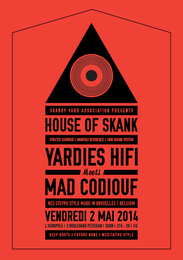 Yardies HiFi meets Mad Codiouf : mad session !