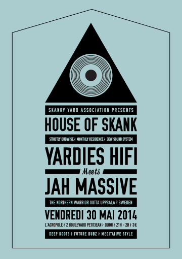 Le retour de Jah Massive à Dijon, invité par Yardies HiFi : full session on file