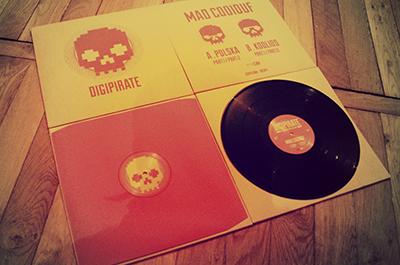 Nouvelle sortie vinyle sur le label Digipirate
